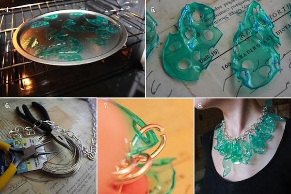 Saiba como fazer bijuterias de garrafa pet pensamento verde for Como criar cachamas en tanques plasticos