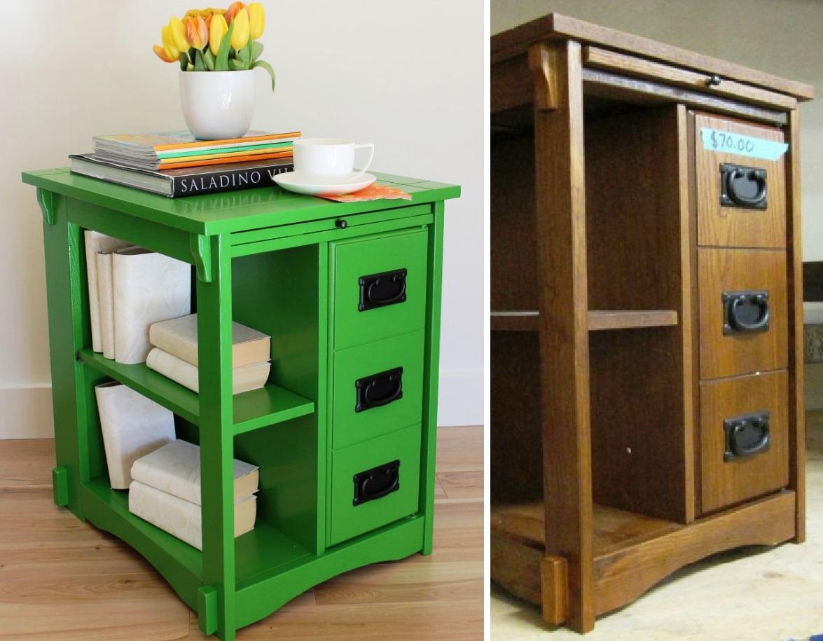 Decorando a casa com móveis reciclados Pensamento Verde #634320 1175x915