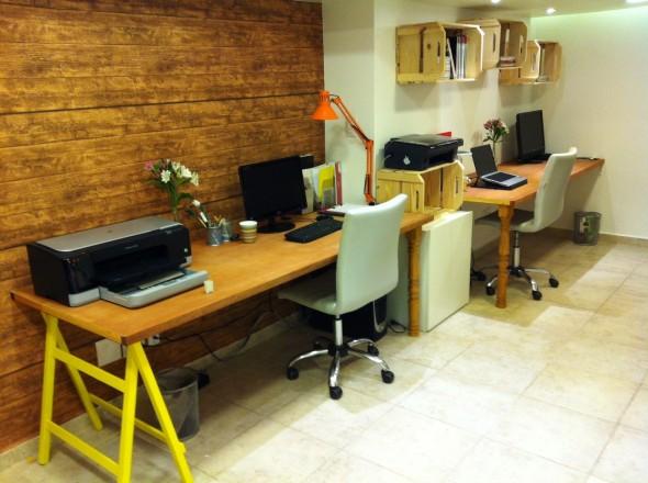 Dicas de decoração sustentável Pensamento Verde ~ Transformar Home Office Em Quarto De Bebe