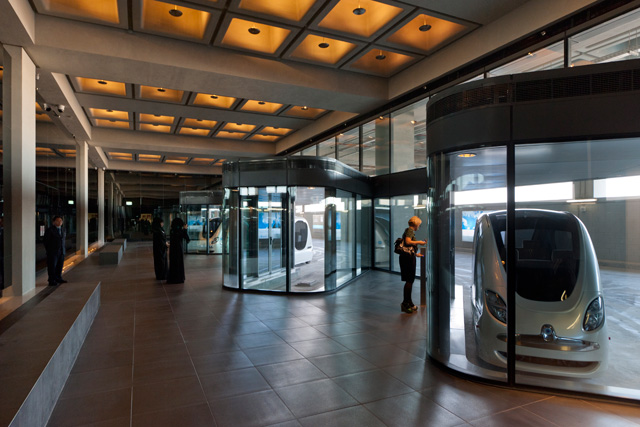 Estação dos Personal Rapid Transit