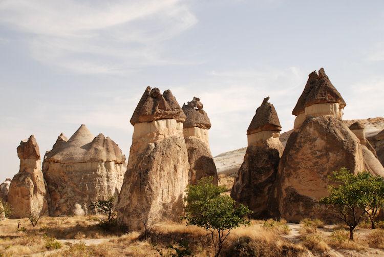 Erosão (Chaminés de fada - Erosão Eólica)