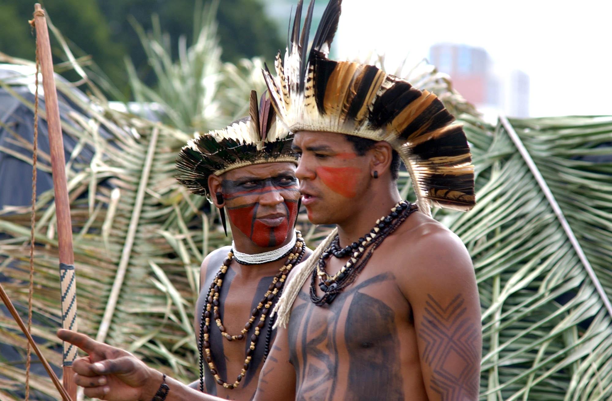 Índios Pataxós.