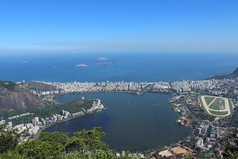 Lagoa Rodrigo de Freitas, RJ.