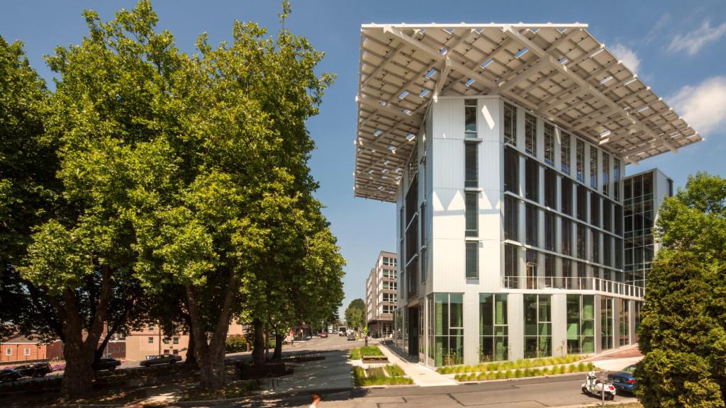 Edifício Sustentável da Fundação Bullitt.