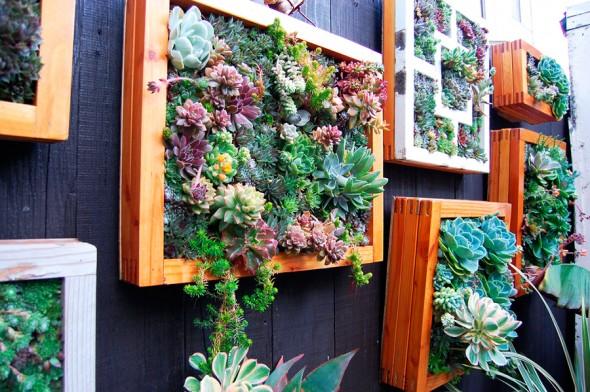 Como escolher vasos para um jardim vertical pensamento verde for Comprar cuadros grandes baratos