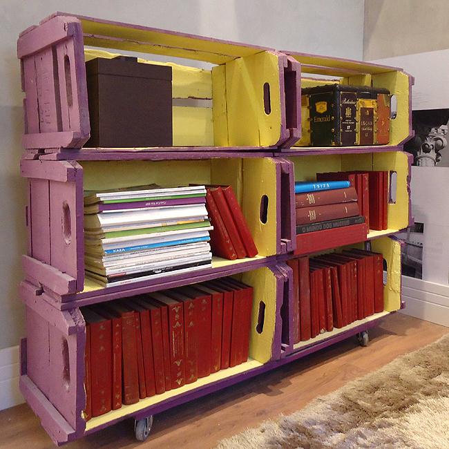 Reciclando caixotes de madeira e decorando a sua casa  Pensamento Verde