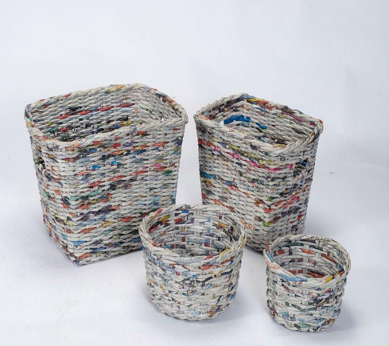 Aparador De Pelos Nariz Mondial ~ 4 ideias de artesanato com jornal Pensamento Verde
