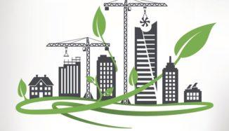 desenho de construção sustentável