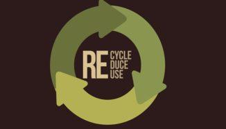 foto de ciclo de reciclagem