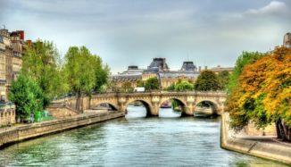 foto do rio sena
