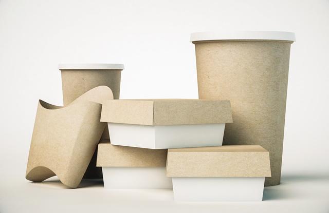 foto de embalagens sustentáveis