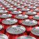 foto de latas de coca-cola